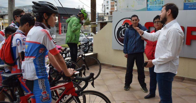 """La REP promueve el trabajo de la Escuela de Ciclismo """"Gerardo Espinoza"""""""